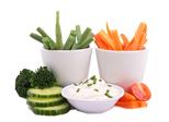 Gemüse & Dips