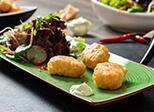 Backfischhappen Asia Style