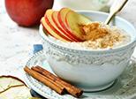Winter-Bratapfel-Porridge