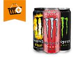 Monster Energy: Kaufe 4 zahle 5,20€