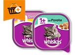 Whiskas 1+: Kaufe 4 zahle 1,80 €