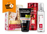 L Oréal: Kaufe mindestens 2 Stück für mindestens 15,00 €  und spare 5,00 €